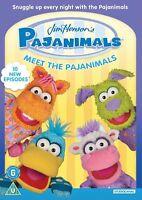 Pajanimals - Meet The Pajanimals [DVD] New Sealed UK Region 2 - Jim Henson