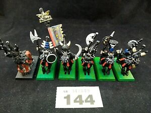 (AB144) Warhammer Chaos Dwarf Bull Centaurs - set of 6 Painted Very Rare OOP