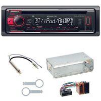 Kenwood KDC-BT510U Autoradio Bluetooth Einbauset für Golf 4 Passat 3B 3BG Polo 6