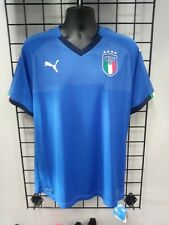 PUMA 2018 ITALY HOME JERSEY (752281 01) SIZE MENS LARGE