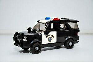 Custom LEGO Police Ford Interceptor Truck California Highway Patrol custom MOC
