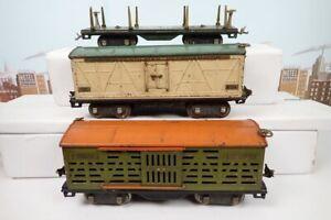 3 Vintage Prewar Lionel Standard Gauge Freight Cars To Restore 511 & 513 & 514