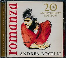 Andrea Bocelli Romanza remastered CD NEW 3 extra tracks 20th Anniversary Edition