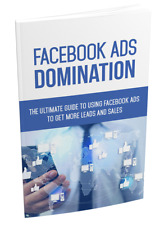 The Ultimate Facebook Ads Domination Course- eBook, Bonuses and Videos on CD