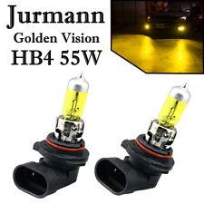 2x Jurmann HB4 55W 12V Golden Vision Gelb Ersatz Scheinwerfer Halogen Auto Lampe