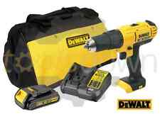 DeWALT 18V DCD776 Cordless Combi Drill XR with 1 Battery, Charger & Canvas Bag
