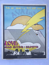 Love Mad River Zephyr Soundproof Avalon 1969 AOR Poster ORIGINAL