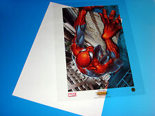 Ultimate Spider-Man Lithograph Joe Quesada Acetate Art Marvel Comics Universe