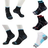 2* Foot Compression Sports Sock Fasciitis Plantar Heel Arch Pain Relief Support