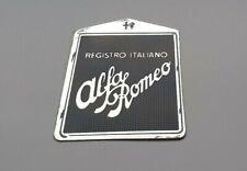 Alfa Romeo Registro Italiano – Decal