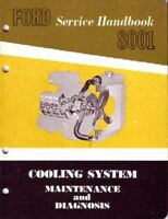 OEM Repair Maintenance Shop Manual Ford Car & Truck Cooling System 1962-1964