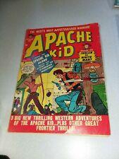 APACHE KID #4 TIMELY 1951 GOLDEN AGE MARVEL ATLAS COMICS WESTERN HERO 1950 SUPER