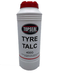 Tyre Talc For Tube & Tyre Repairs 400g Container French Chalk