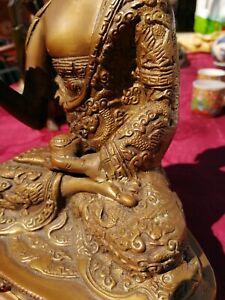 STATUA BUDDHA  FUSIONE IN BRONZO