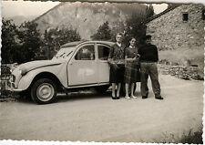 PHOTO ANCIENNE - VINTAGE SNAPSHOT - VOITURE AUTOMOBILE CITROËN 2 CV - CAR