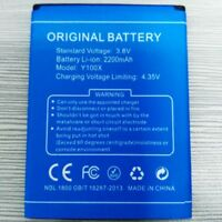 Original Doogee Y100X 2200mA 3.8V Li-ion Battery For DOOGEE Y100X Phone Warranty