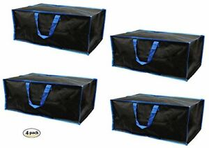 Earthwise Storage & Moving Bags w/Zipper  Extra Large