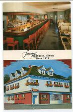 Simonini Restaurant Algonquin Illinois postcard