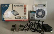 D-Link Air Wireless Network Print Server, DP-311P