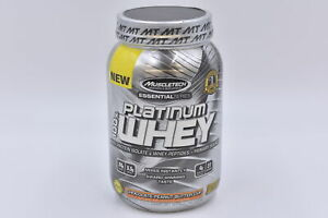 Muscletech Platinum Whey 24g Protein, Chocolate Peanut Butter Cup, 2lb EXP:11/21
