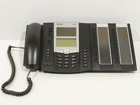 Aastra 6773 digitales Systemtelefon + M671 Erweiterungsmodul schwarz