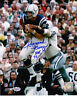 RAYMOND BERRY  BALTIMORE COLTS  HOF 73   ACTION SIGNED 8x10