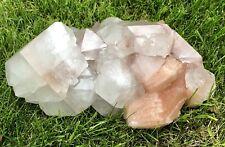 Apophyllite With Stilbite Crystal Cluster Mineral Display Specimen Zeolite A22