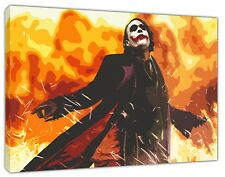 JOKER THEY LAUGH AT ME PRINT ON FRAMED CANVAS PICTURE WALL ART HOME DECORATION