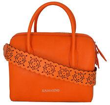 Bolso Tipo Baúl Mujer Naranja Ermanno Scervino Bag mujer OrangeLinea Carlotta Y