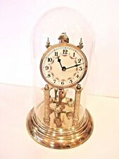 VINTAGE, EARLY 50's HALL CLOCK CORP. , BRASS, PERPETUAL MOTION CLOCK - 400 DAY