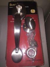 Sure-Loc Hardware H507-AT/AR100 Satin Nickel ALTA HANDLESET/ARAPAHO KNOBSET
