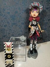 Ever After High First Chapter Cerise Hood Replacement Tights Leggings Gray
