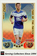 2010-11 Topps Match Attax Man Of Match Foil No 389 Nihola Ziqic (Birmingham)