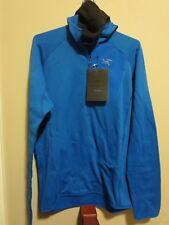 Mens New Arcteryx Konseal Hoody Jacket 3/4 Zip Size Medium Color Rigel