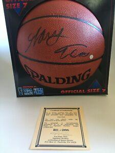 GARY TRENT Autographed signed Basketball NBA  Portland Trailblazers #'d 110/1000