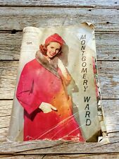 Vintage 1963 Montgomery Ward Catalog Fall and Winter
