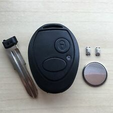 Land Rover Discovery 2 TD5 2 Button Remote Key Fob Case Shell FULL Repair Kit