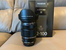 Olympus M.Zuiko ED 12-100mm f/4 IS PRO Zoom Lens f/Micro 4/3, Black