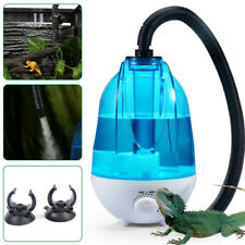 New listing 4L Tank Amphibians Reptile Fogger Terrariums Humidifier Fog Machine New