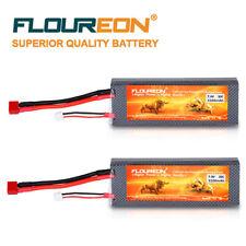 2* Lipo Batteria RC 7.4V 5200mAh 2S 30C T Plug per RC Elicottero Drone FPV AUTO