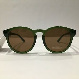 Lucky Brand Sunglasses D939 Green/Brown 53 mm Non-Polarized