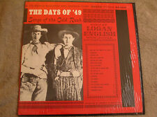 The Days Of '49 - Songs Of The Gold Rush Sung by Logan English Folkways Fh-5255