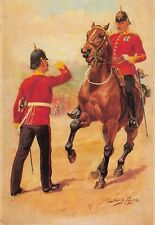 Postcard The Military Art of Harry Payne, The Hampshire Regiment #17-2
