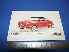 CHROMO 1950-1959 CHOCOLAT CEMOI DECOUPAGE AUTOMOBILE AUTO DYNA PANHARD