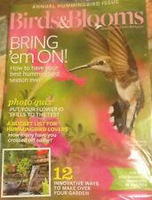 Annual Hummingbird Issue, Birds &Blooms, June/july 2015
