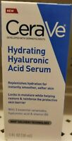 CeraVe Hyaluronic Acid Face Serum Hydrating Serum for Face with Vitamin B5,1oz