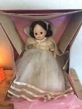 "Vintage Madame Alexander 14"" Classic Snow White Dress Doll Box #1555"