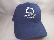 EMBROIDERED BERNIE SANDERS FOR PRESIDENT FEEL THE BERN BASEBALL TRUCKER HAT 2016