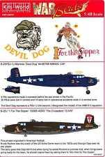 Kits World Decals 1/48 B-25J PBJ-1J MITCHELL Devil Dog & 1 For the Gipper