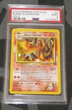 Pokemon Card - PSA 9 Blaine's Charizard - Gym Challenge - 2/132